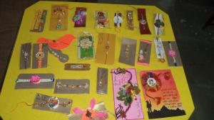 Inter House Rakhi , Paper Beg & Card Making Competition
