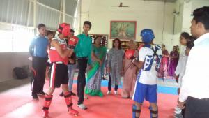 Thai Boxing Competition Photos