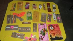 Inter House Rakhi , Paper Beg & Card Making Competition